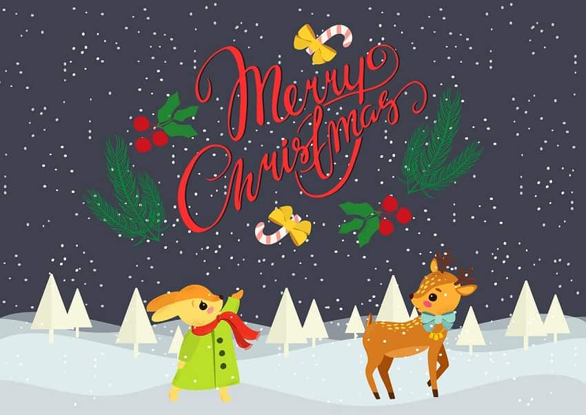Merry Christmas Wallpaper for Desktop