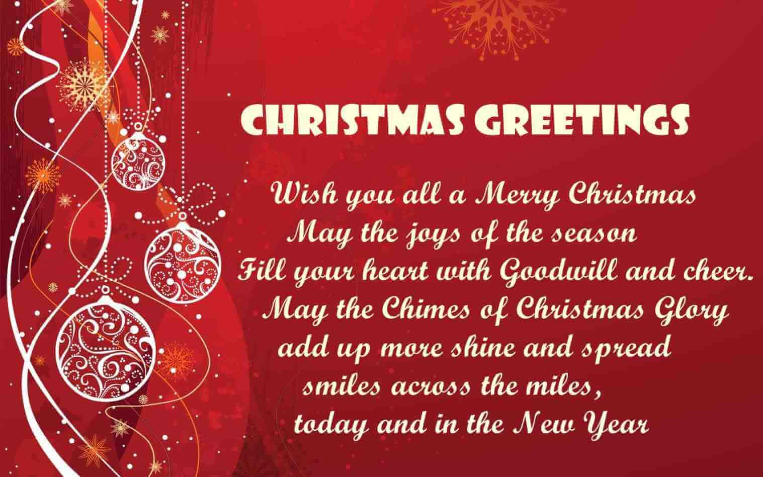 Merry Christmas Sayings for Family