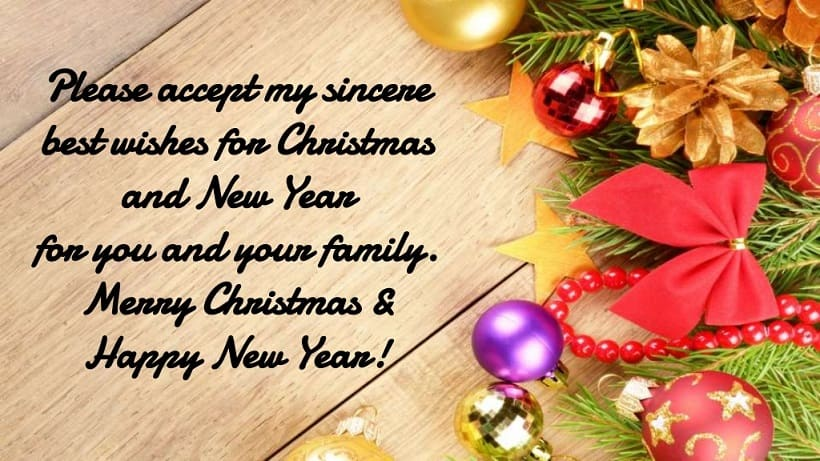 Merry Christmas Sayings for Friends
