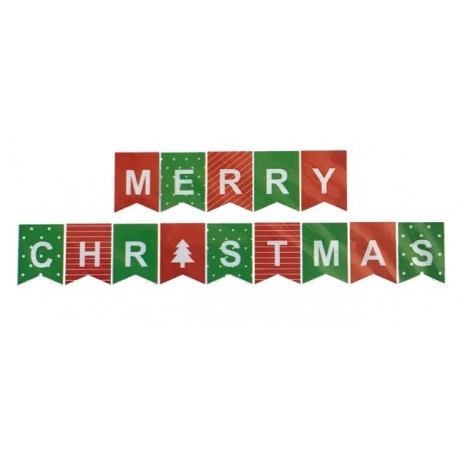 Merry Christmas Banner for Kids