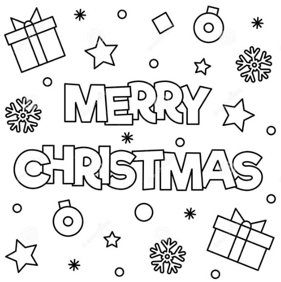 Christmas Coloring Sheets