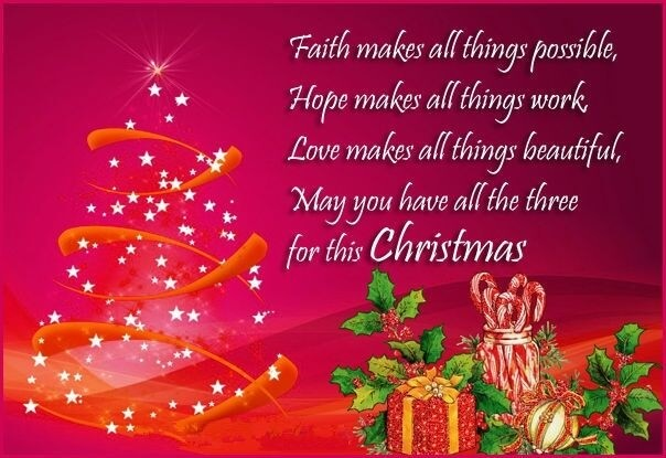 Merry Christmas Greetings 2019
