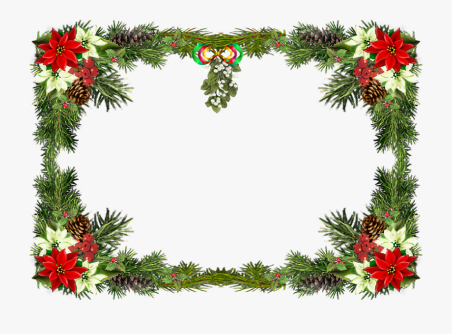 Printable Merry Christmas Border