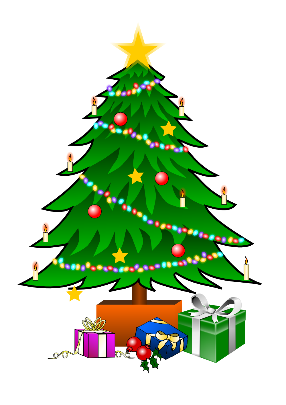 Christmas Tree Clipart Images