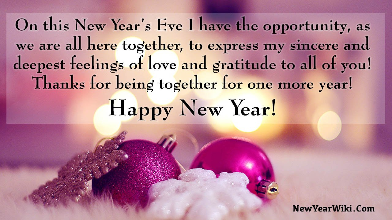 Happy New Year 2021 Quotes To Family