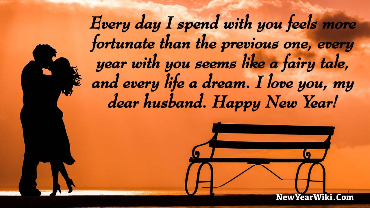 Happy New Year 2021 Wishes For Husband