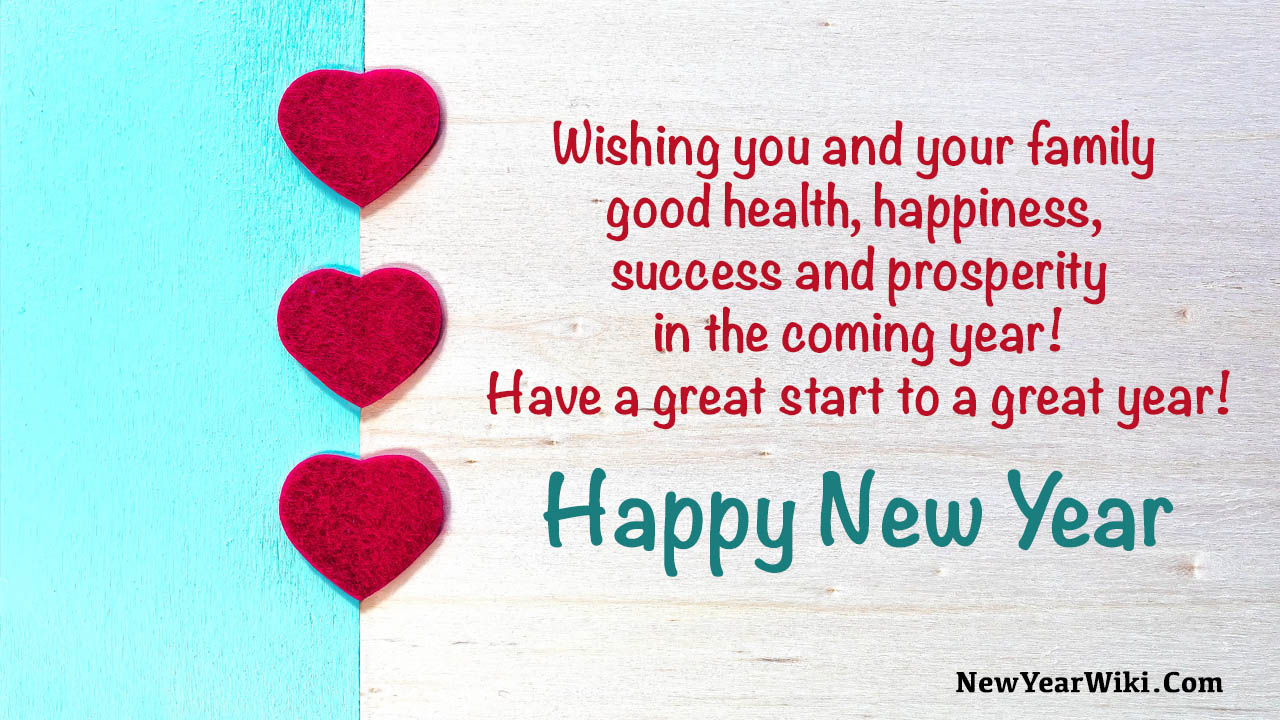 Happy New Year Quotes To Family