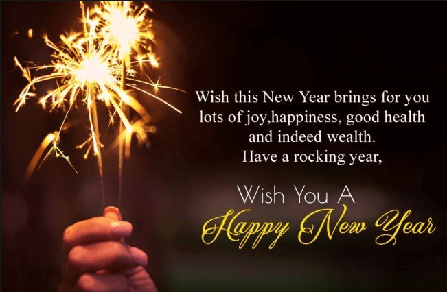 Happy New Year Wishes Greetings