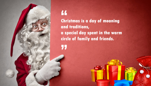 Santa Claus Quotes Images