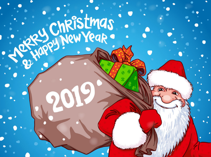 Santa Claus Wallpaper for Merry Christmas 2019