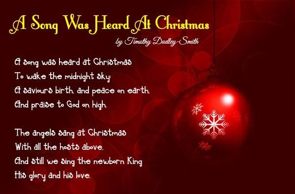 Short Christmas Poems and Prayers