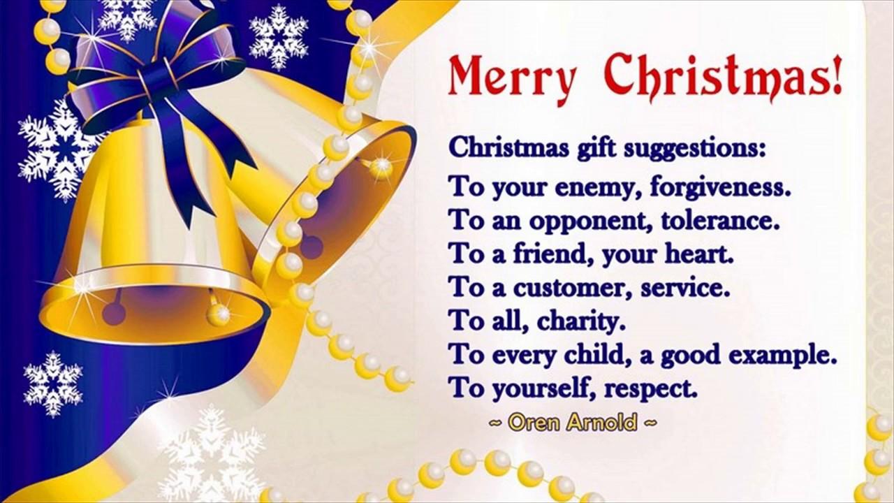 Short Christmas Prayers For Family