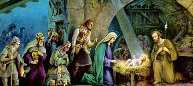 christmas jesus birth images