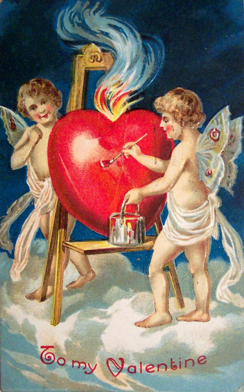 Antique Valentines Day Photos