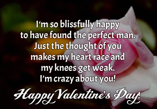 Happy Valentine's Day Wishes for Boyfriend