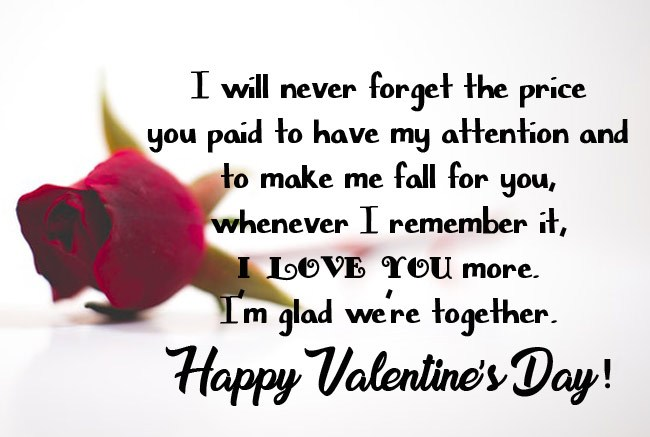 Sweet Valentine's Day Wishes