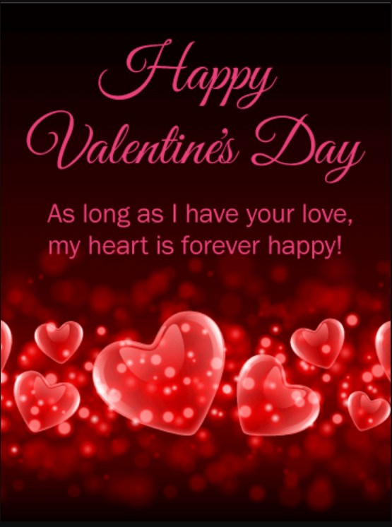 Valentines Day Wishes for Everyone