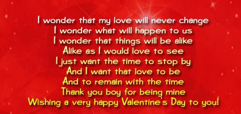 Valentine's Day Wishes for Fiance