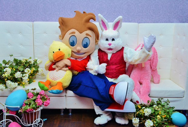 pictures with easter bunny near me