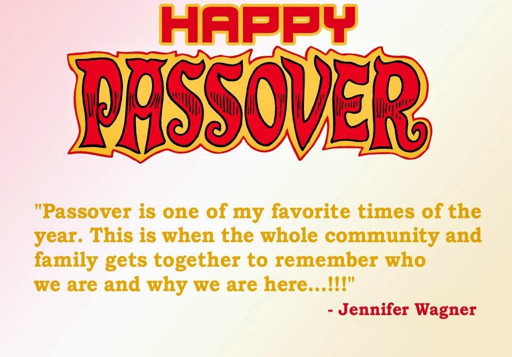 Passover Messages 2020