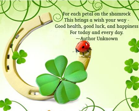 St Patricks Day Greetings