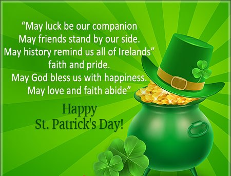 St Patricks Day Wishes for Family and Friends