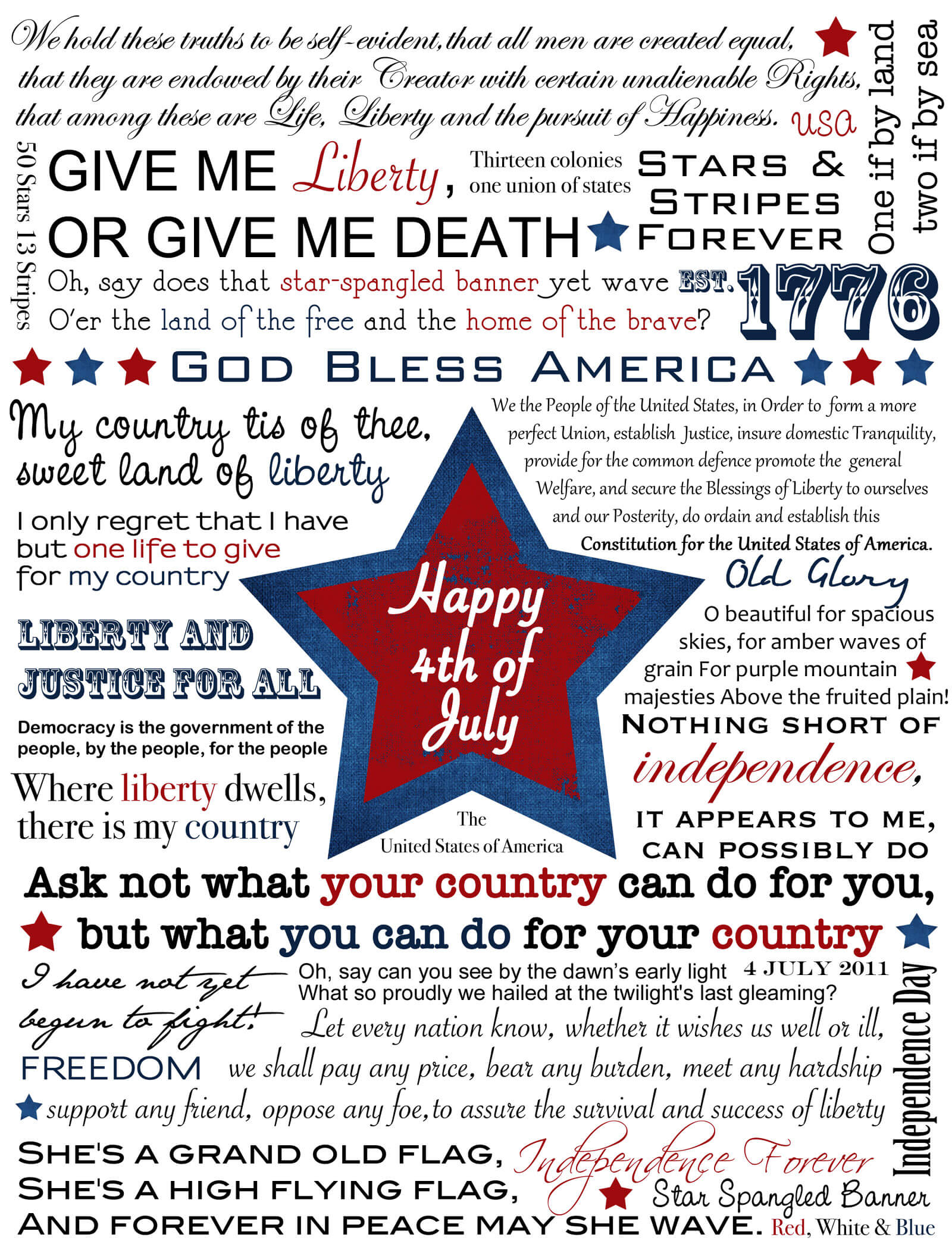 4th of July Quotes and Saying for Facebook