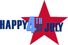 Happy 4th Of July Clipart Banner