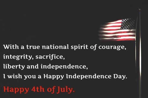 Happy Fourth of July Funny Messages Greetings