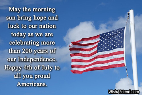 Happy Independence Day USA Messages Quotes