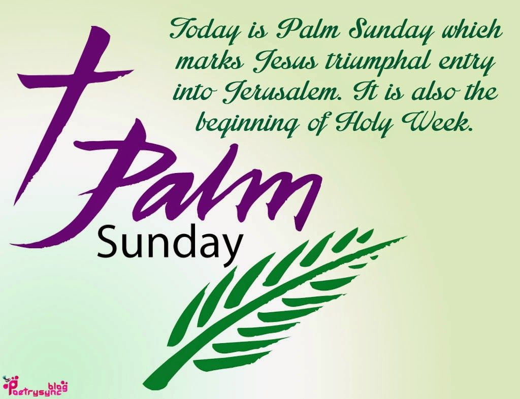 Happy Palm Sunday Messages, Quotes and Wishes 2021 with Images Pictures Photos HD Wallpapers Free Download 14